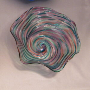 Crinkle Bowl - Small, gemtone