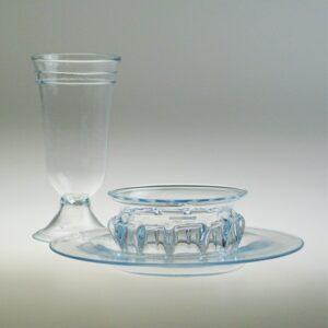 Dinnerware Set - Roman, Aqua