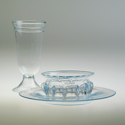 Dinnerware Set - Roman, Aqua