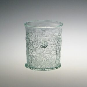 Crackle Beaker - with raspberry prunts