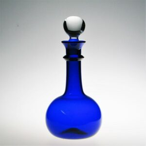 Decanter - Early American, with fitted stopper