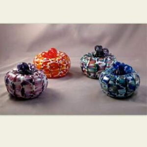 Medium Pumpkins - Assorted Colors with White