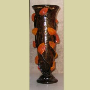 Autumn Leafy Vase