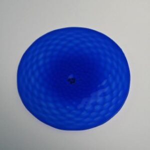 Rondel - Diamond Pattern, cobalt
