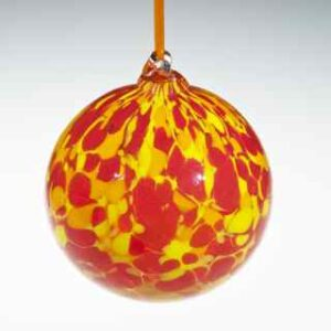 Round Ornaments - Fiery