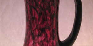 Mug - ruby and black