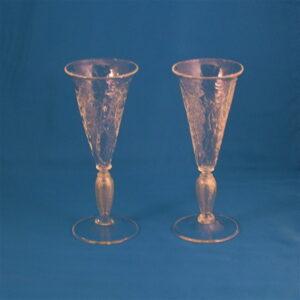 Campagne Flutes - Venetian, gold leaf