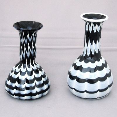 Bottles - Roman, black and white