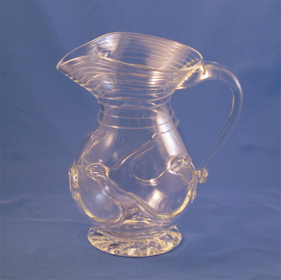 Lilypad Pitcher - Clear