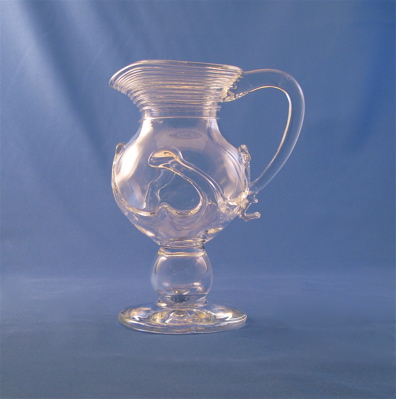 Lilypad Creamer - Tall, Clear