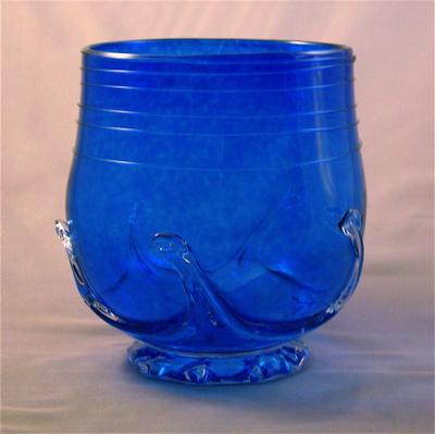 Lilypad Jar - Cobalt