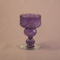 Egg Cup - Early American, purple