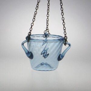 Lamp - Roman, aqua