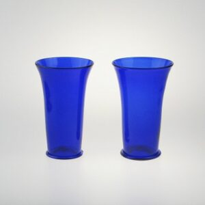 Beakers - Islamic, cobalt