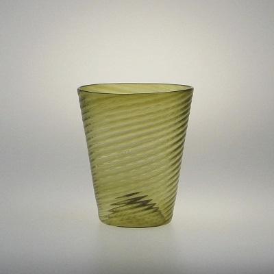 Optic Tumbler - Olive