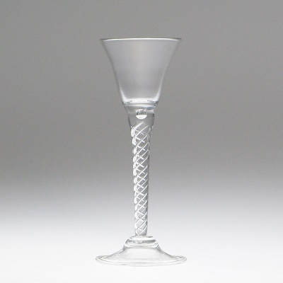 Air Twist Goblet - cordial style