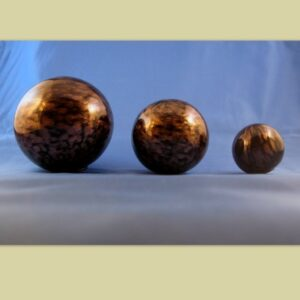 Spheres - black and gold