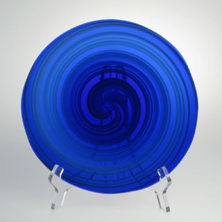 Rondel - Canework, cobalt swirl