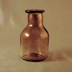 Storage Bottle - Early American, Amber
