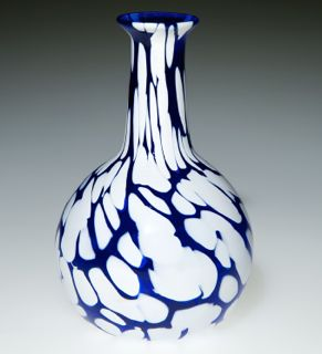 flask with large spots