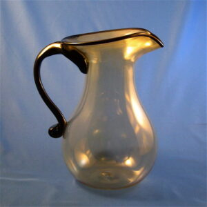 Pitcher - Olive and Black