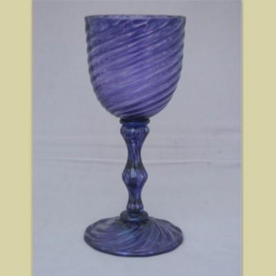 Goblet - Venetian, purple