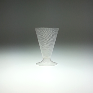 Wine Glass – Italian, Voet Beaker, Canework