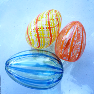 Easter Eggs – Contemporary, Canework