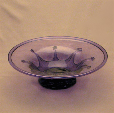 Lilypad Dish- Purple