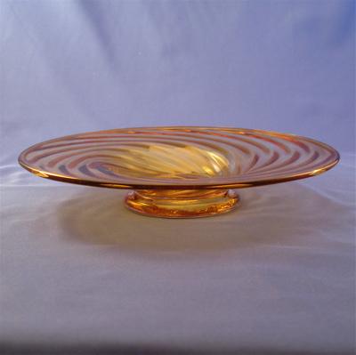Dish - Early American, Amber
