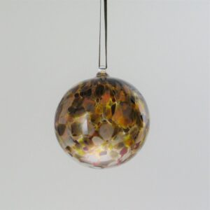 Round Ornament - brown mix