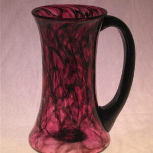 Mug - ruby and black