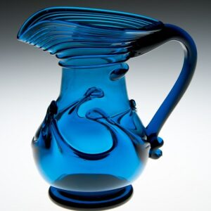 Lilypad Creamer - Early American, cobalt