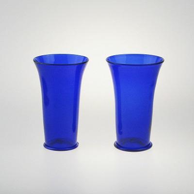 Beakers - Islamic, cobalt