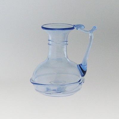 Bottle - Roman, periwinkle, small