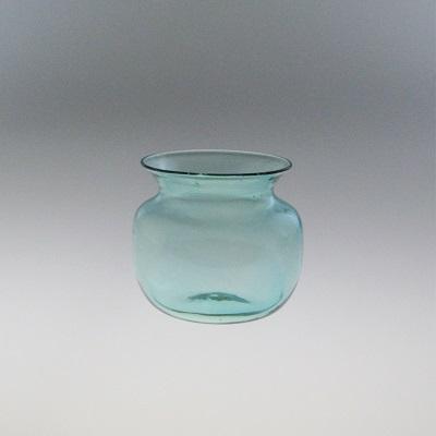 Storage Jar - Roman, aqua