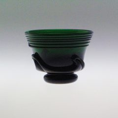 Lilypad Bowl - Early American, small, emerald