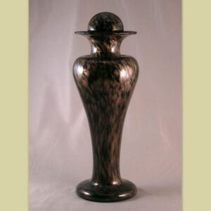 Amphora - black and gold with Sphere