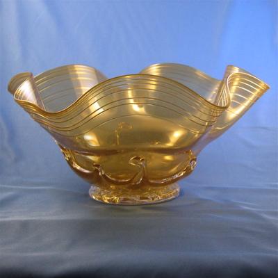 Lilypad Crinkle Bowl - Olive
