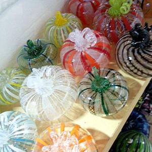 Contemporary Canework Pumpkins
