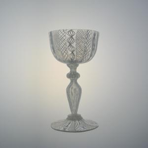 Wine Glass – Italian Goblet, Canework