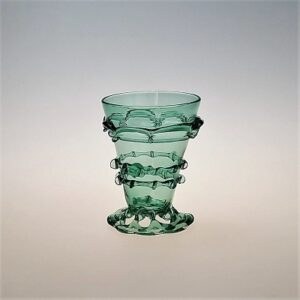 Wine Glass – Dutch German Goblet, openwork foot with pinched trails