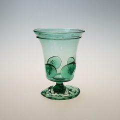 Wine Glass – Dutch German Goblet, openwork foot with prunts