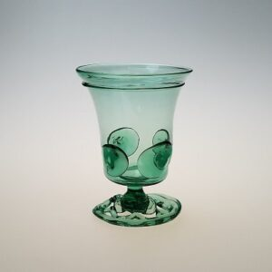 Wine Glass – Dutch German Goblet, openwork foot with prunts
