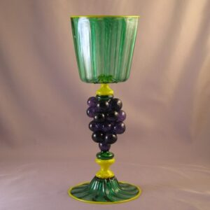 Wine Glass – Italian/Venetian, Heraldric Goblet